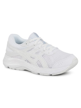 Asics Asics Pantofi Contend 6 Gs 1014A086 Alb