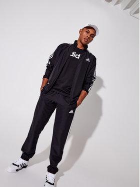 adidas adidas Тишърт Essentials Linear DU0404 Черен Regular Fit