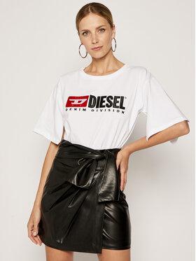 Diesel Diesel T-Shirt T-Jacky-D 00SPB90CATJ Biały Regular Fit