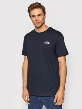 The North Face The North Face Тишърт Simple Dome NF0A2TX5T871 Тъмносин Regular Fit