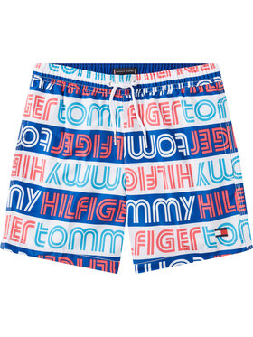 Tommy Hilfiger Tommy Hilfiger Szorty kąpielowe Medium Drawstring UB0UB00274 D Kolorowy Regular Fit