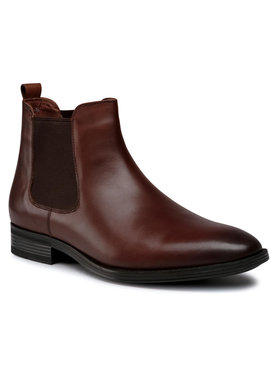 Wittchen Wittchen Členková obuv s elastickým prvkom 91-M-912-5 Hnedá