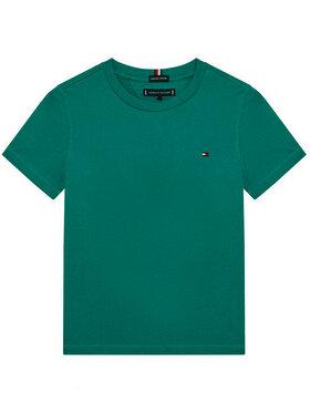 TOMMY HILFIGER TOMMY HILFIGER T-shirt Essential KB0KB06130 Vert Regular Fit