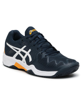 Asics Asics Buty Gel-Resolution 8 Clay Gs 1044A019 Granatowy