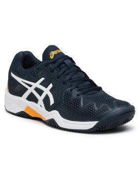 Asics Asics Chaussures Gel-Resolution 8 Clay Gs 1044A019 Bleu marine