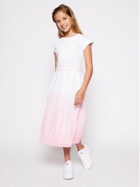 Guess Guess Sukienka codzienna J1GK44 J1300 Biały Regular Fit