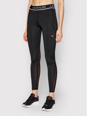 Calvin Klein Performance Calvin Klein Performance Leggings Full Lenght Tight 00GWS1L650 Nero Slim Fit