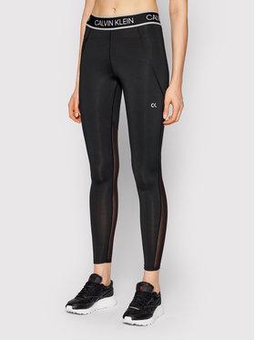 Calvin Klein Performance Calvin Klein Performance Legíny Full Lenght Tight 00GWS1L650 Černá Slim Fit