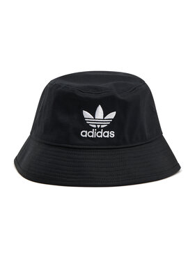 adidas adidas Bucket kapa Trefoil Bucket Hat AJ8995 Crna