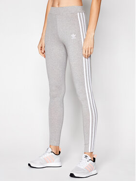 adidas adidas Colanți adicolor Classics 3-Stripes GN4506 Gri Tight Fit