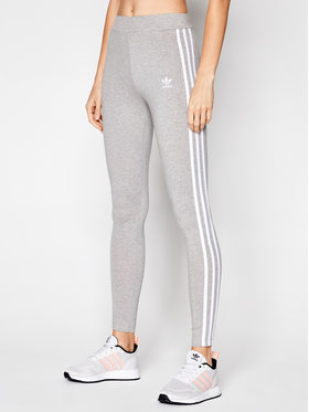 adidas adidas Leggings adicolor Classics 3-Stripes GN4506 Szürke Tight Fit
