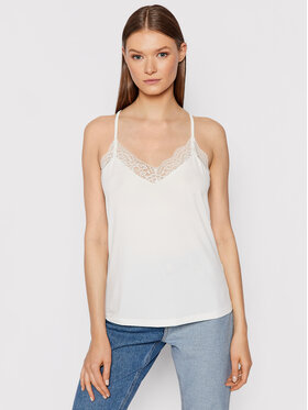 Vero Moda Vero Moda Top Ana 10233213 Biały Regular Fit