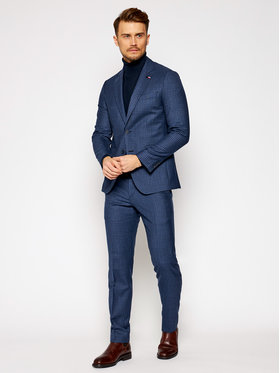 Tommy Hilfiger Tailored Tommy Hilfiger Tailored Anzug Blend TT0TT08438 Dunkelblau Regular Fit