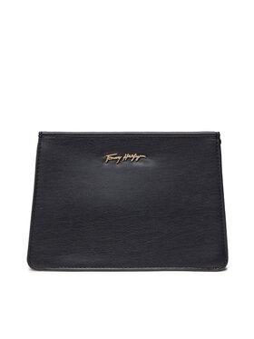 Tommy Hilfiger Tommy Hilfiger Smink táska Iconic Tommy Washbag AW0AW10131 Rózsaszín