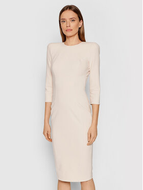 Elisabetta Franchi Elisabetta Franchi Sukienka koktajlowa AB-018-16E2-V410 Różowy Slim Fit