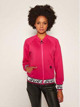 Guess Guess Džemperis Activer O0BA22 KA3A0 Rožinė Regular Fit