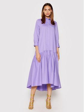 Imperial Imperial Sukienka koszulowa A9MYBBE Fioletowy Regular Fit
