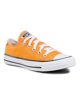 Converse Converse Trampki Ctas Ox Kumquat 170468C Pomarańczowy