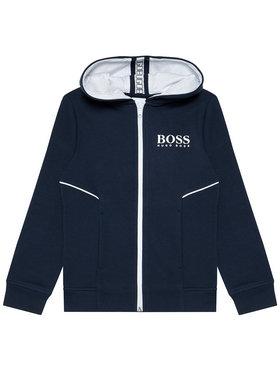 Boss Boss Bluza J25M09 D Granatowy Regular Fit