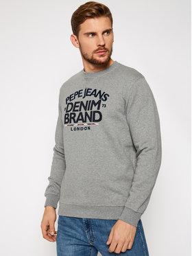 Pepe Jeans Pepe Jeans Sweatshirt Harrison PM581843 Grau Regular Fit