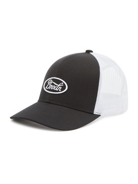 Brixton Brixton Καπέλο Jockey Parsons X Mp Mesh Cap 10868 Μαύρο