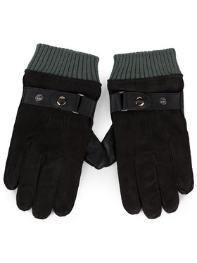 Guess Guess Guanti da uomo Not Coordinated Gloves AM8575 LEA02 Nero