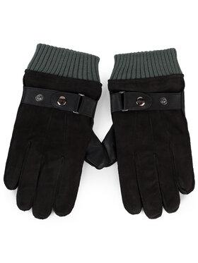 Guess Guess Pánské rukavice Not Coordinated Gloves AM8575 LEA02 Černá