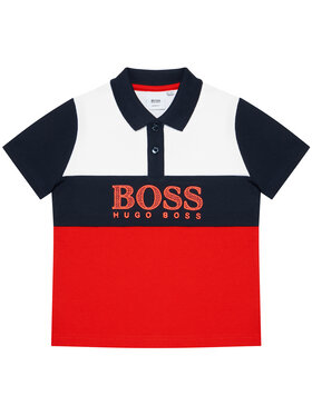 Boss Boss Tricou polo J25L25 S Roșu Slim Fit
