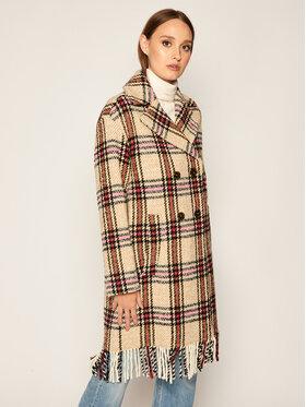 iBlues iBlues Vlněný kabát Lux 70160606 Béžová Regular Fit