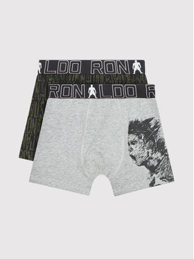 Cristiano Ronaldo CR7 Cristiano Ronaldo CR7 Lot de 2 boxers Trunk 2-Pack 8400-51-564 Gris