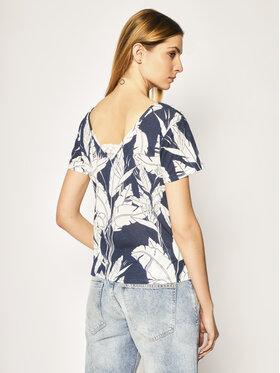 Roxy Roxy T-Shirt ERJKT03662 Tmavomodrá Regular Fit