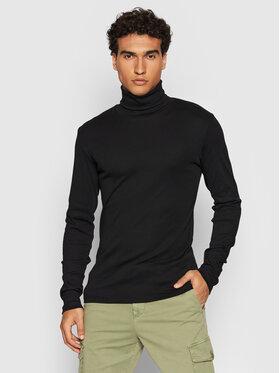 Marc O'Polo Marc O'Polo Bluză cu gât M29 2202 52354 Negru Slim Fit