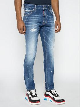 Dsquared2 Dsquared2 Regular Fit Jeans Cool Guy S74LB0670 Blau Regular Fit