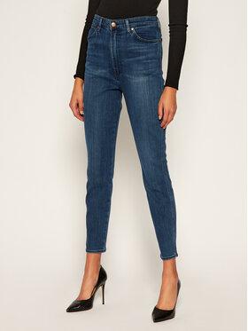 Wrangler Wrangler jeansy_skinny_fit Wriggler W2H0JC22T Tamsiai mėlyna Skinny Fit