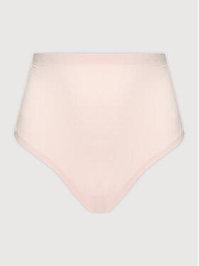 Tommy Hilfiger Tommy Hilfiger Klasické nohavičky s vysokým pásom Hw Hipster Curve UW0UW03048 Ružová
