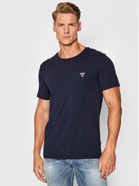 Guess Guess T-shirt Crew Neck U94M09 K6YW1 Bleu marine Regular Fit
