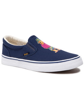 Polo Ralph Lauren Polo Ralph Lauren Πάνινα παπούτσια Thompson 816834368001 Σκούρο μπλε