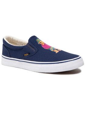Polo Ralph Lauren Polo Ralph Lauren Sneakers aus Stoff Thompson 816834368001 Dunkelblau