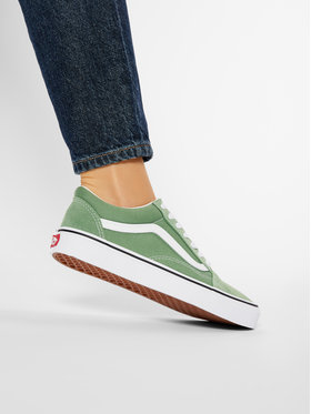 Vans Vans Гуменки Old Skool VN0A3WKT4G61 Зелен