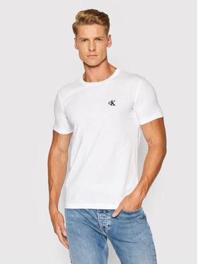 Calvin Klein Jeans Calvin Klein Jeans Тишърт Tee Shirt Essential J30J314544 Бял Slim Fit