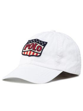 Polo Ralph Lauren Polo Ralph Lauren Καπέλο Jockey Basseball Cap 323793581001 Λευκό