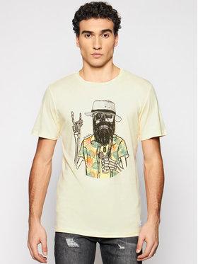 Jack&Jones Jack&Jones Marškinėliai Daays 12188286 Geltona Regular Fit