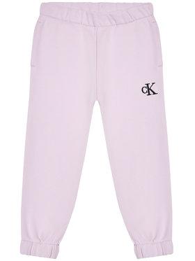 Calvin Klein Jeans Calvin Klein Jeans Pantaloni trening IG0IG00778 Violet Relaxed Fit