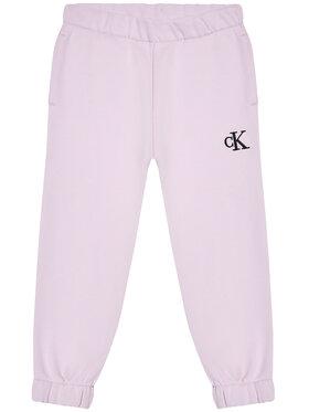 Calvin Klein Jeans Calvin Klein Jeans Sportinės kelnės IG0IG00778 Violetinė Relaxed Fit