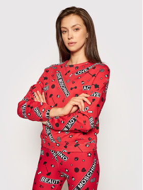 LOVE MOSCHINO LOVE MOSCHINO Sweatshirt W630600M 4208 Rouge Regular Fit