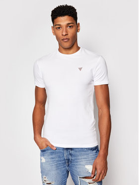 Guess Guess T-Shirt U1GM00 K6YW1 Biały Regular Fit