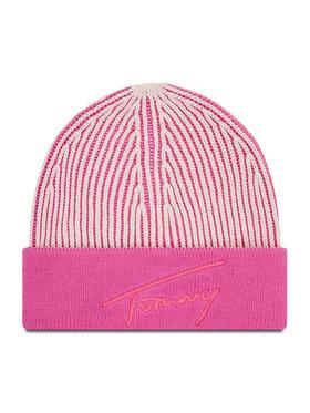Tommy Jeans Tommy Jeans Czapka Tjw Logo Beanie AW0AW10713 Różowy
