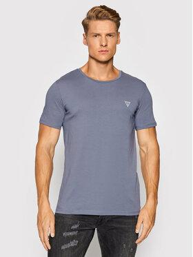 Guess Guess T-Shirt U94M09 K6YW1 Modrá Regular Fit