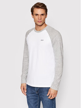 Superdry Superdry Manches longues Vintage Baseball M6010549A Blanc Regular Fit
