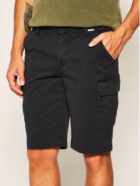 Calvin Klein Calvin Klein Bavlnené šortky K10K105316 Tmavomodrá Regular Fit